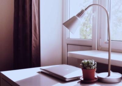Dobre oświetlenie w minimalistycznej wersji.