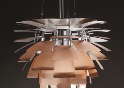 Designerska lampa.