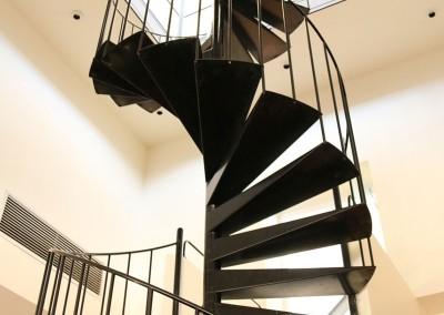 Kręte schody.