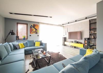 Wnętrze apartamentu w Bydgoszczy i stylowe meble wykonane na wymiar