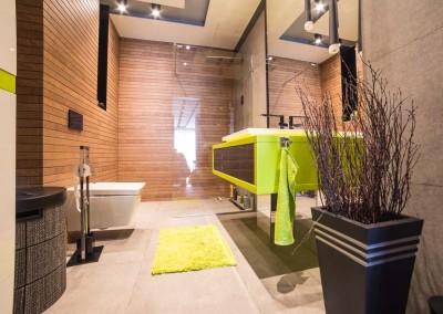 Łazienka i stylowa szafka