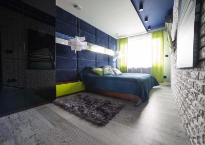 Aranżacja sypialni - Lake Resident, Bydgoszcz